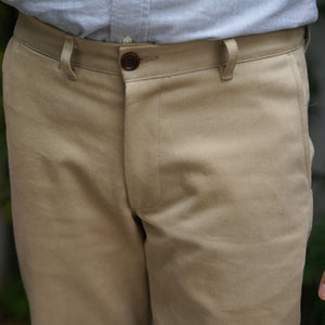 Rivet Chino 12oz Cotton Calvary Twill Camel
