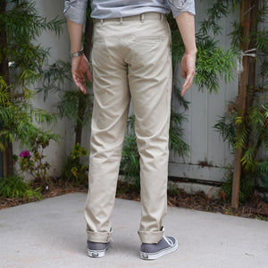 Rivet Chino Cozy 10oz Brushed Cotton Twill Khaki