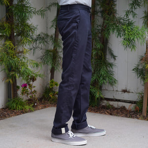 Rivet Chino Cramerton Cotton Twill Navy
