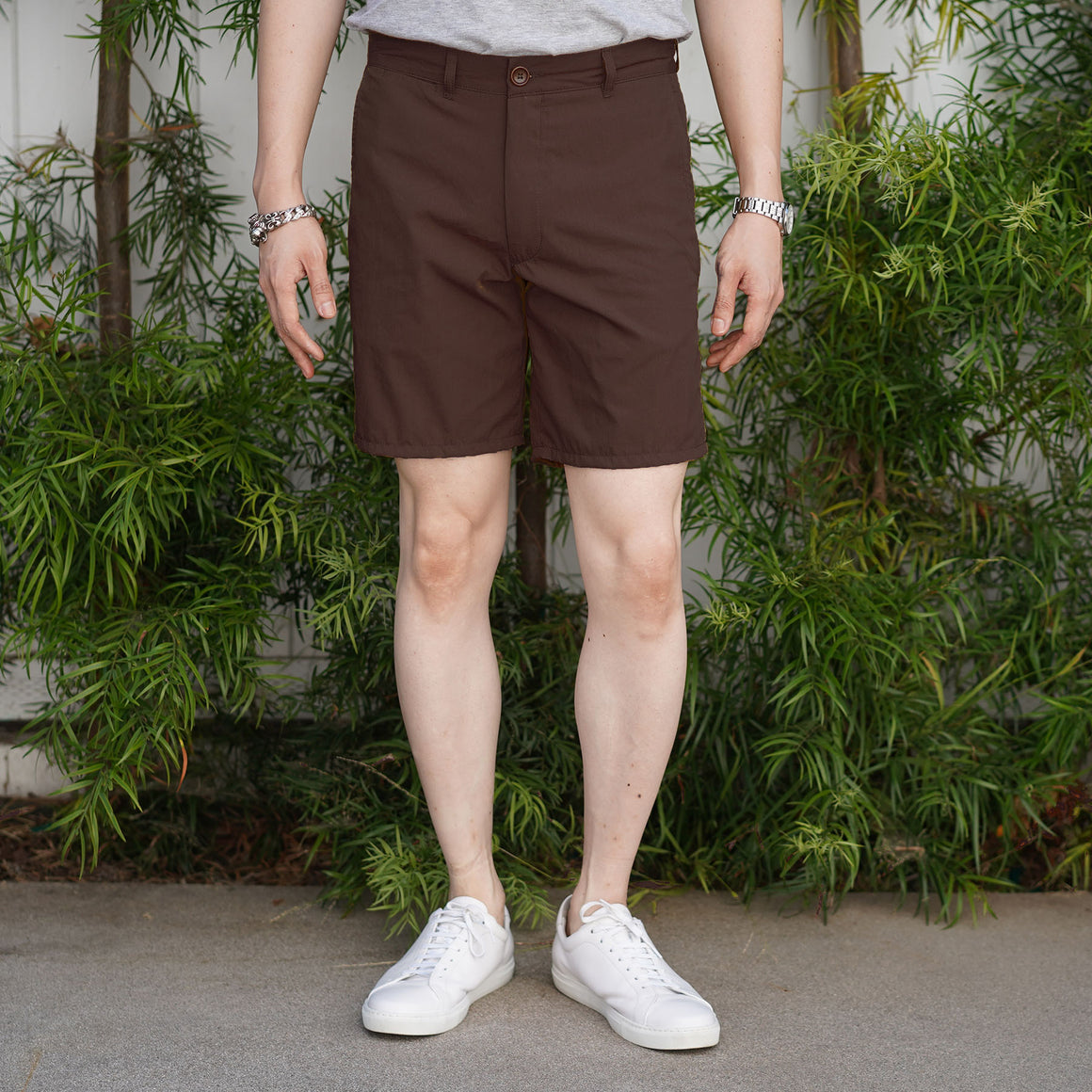 Rivet Chino Short Nylon/Cotton Mocha