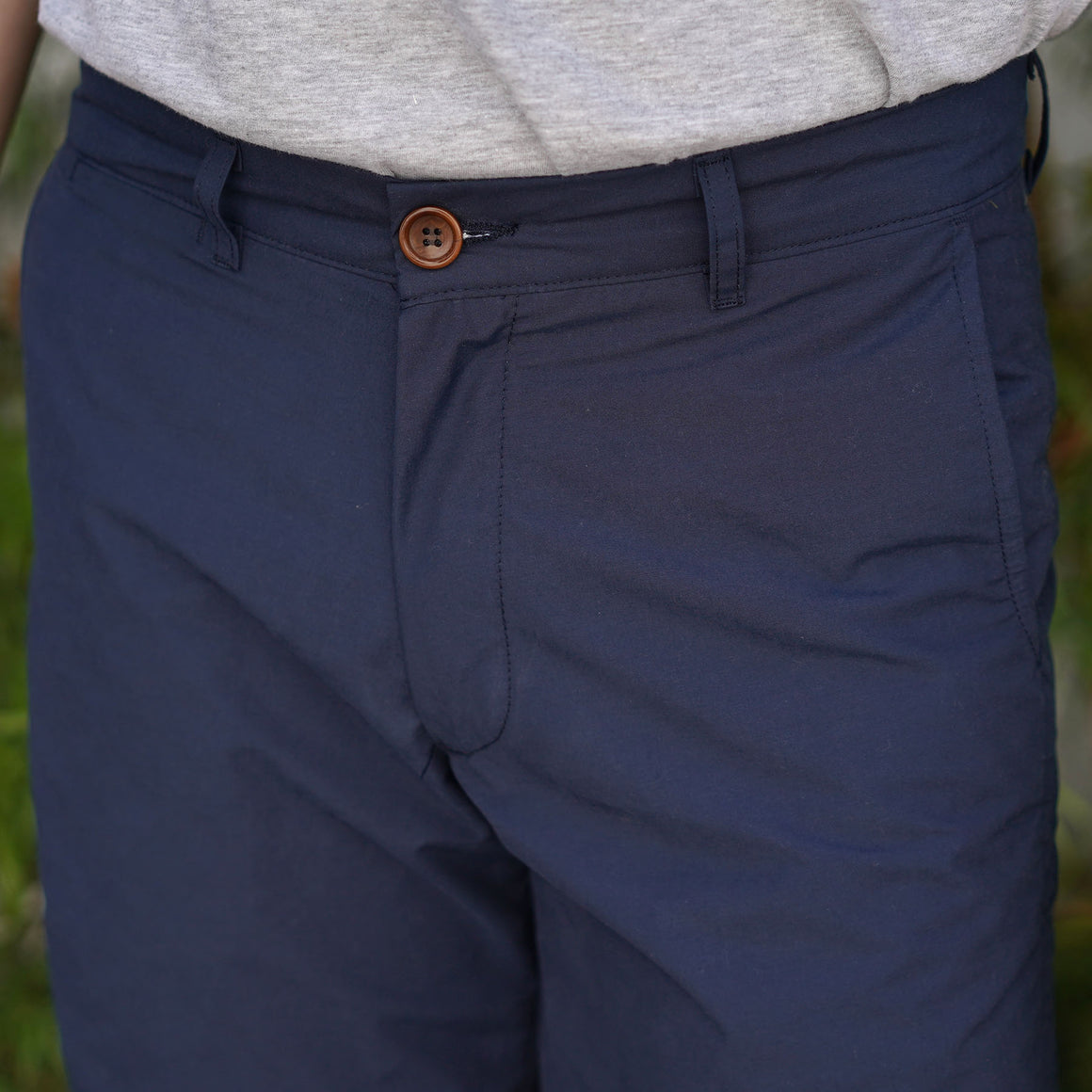 Rivet Chino Short Nylon/Cotton Navy