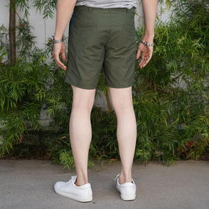 Rivet Chino Short Nylon/Cotton Moss