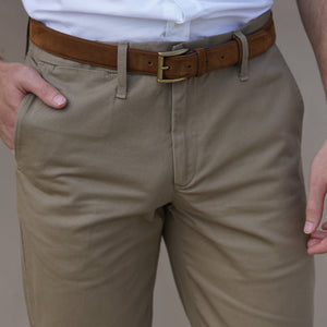 Rivet Chino British Khaki Cramerton Cloth