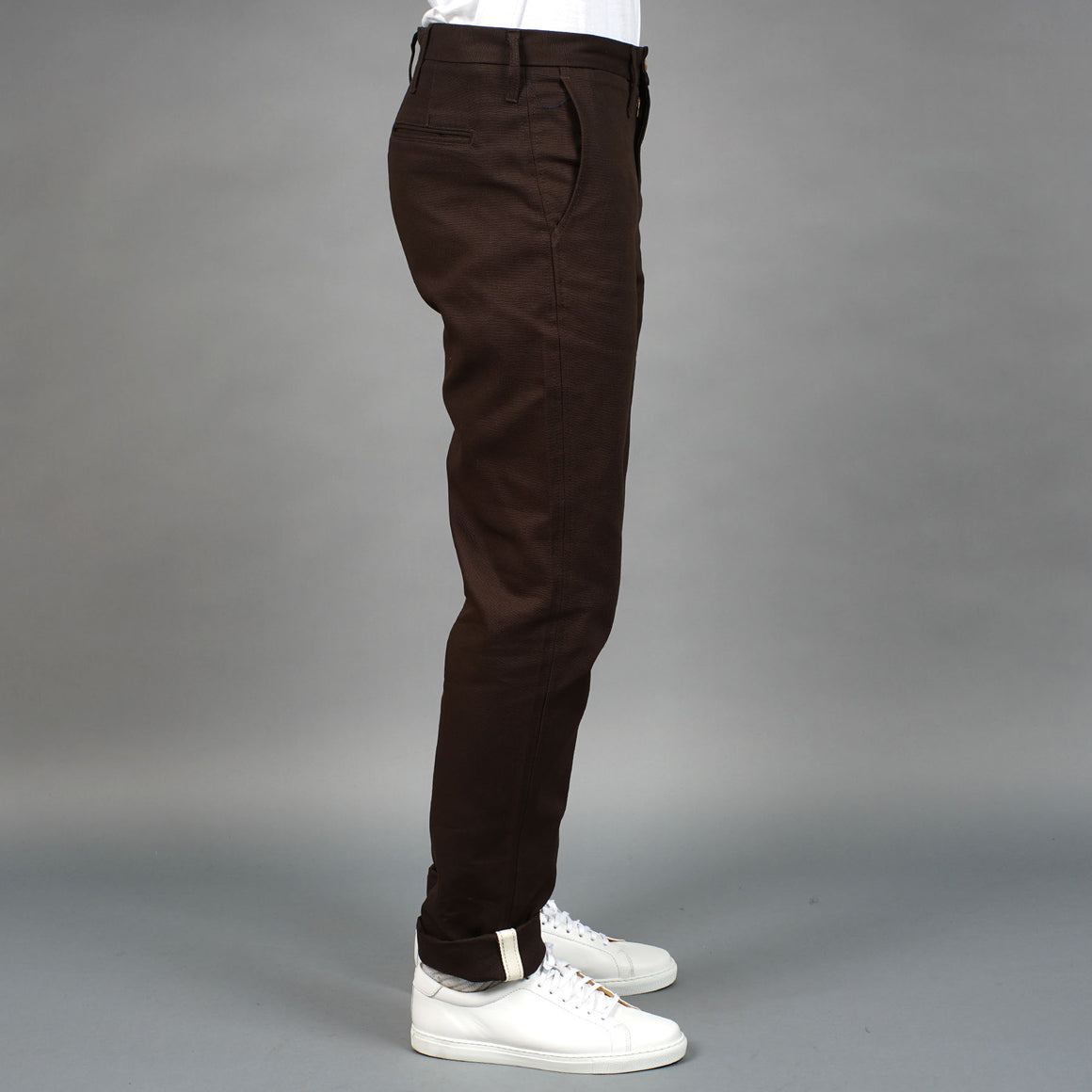 Rivet Chino 10oz Duck Canvas Chocolate