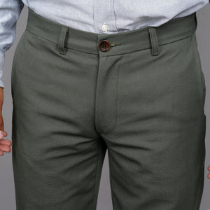 Rivet Chino 10oz Duck Canvas Olive