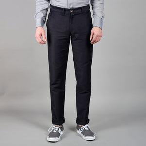 Rivet Chino Brushed Navy Twill