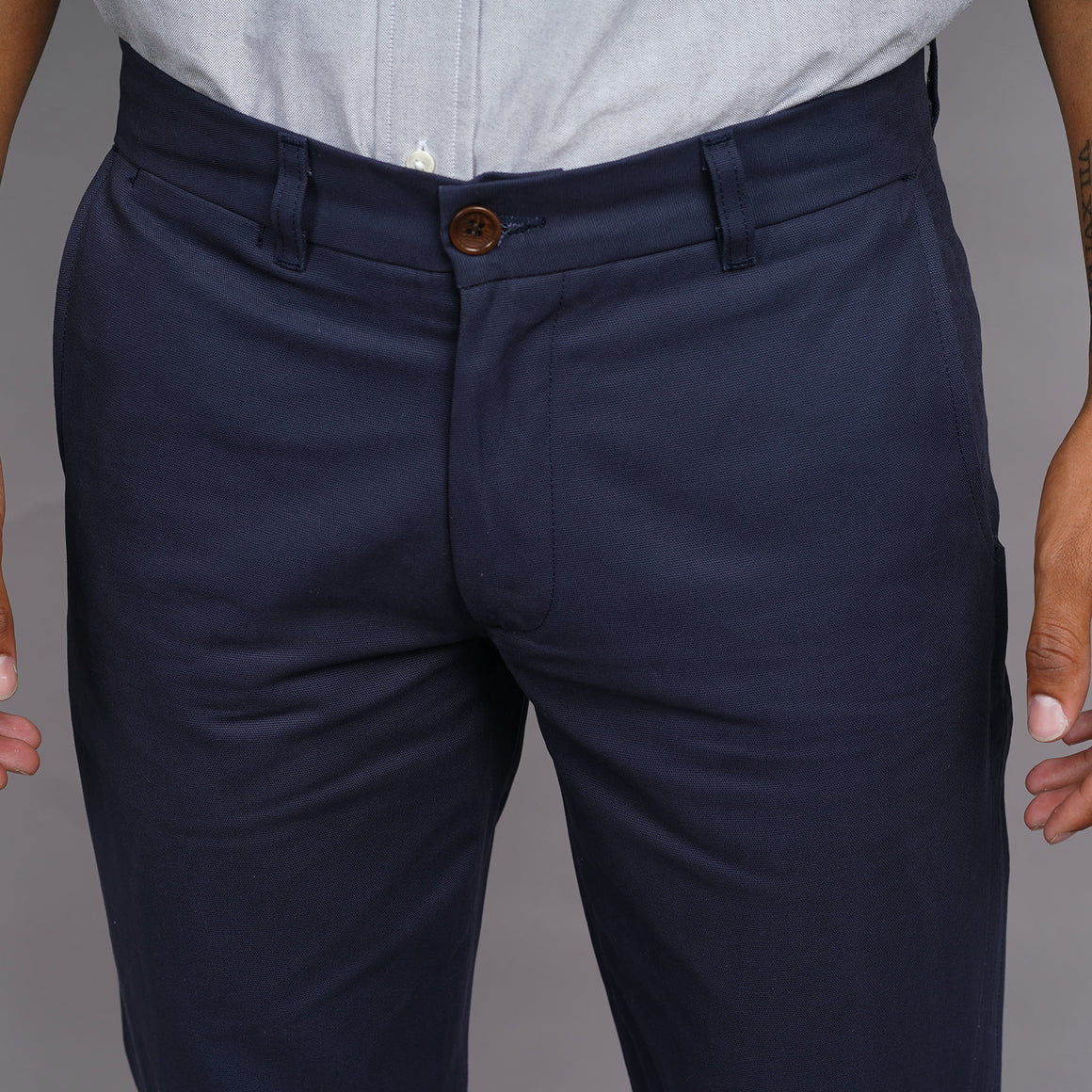Rivet Chino 8oz Canvas Navy
