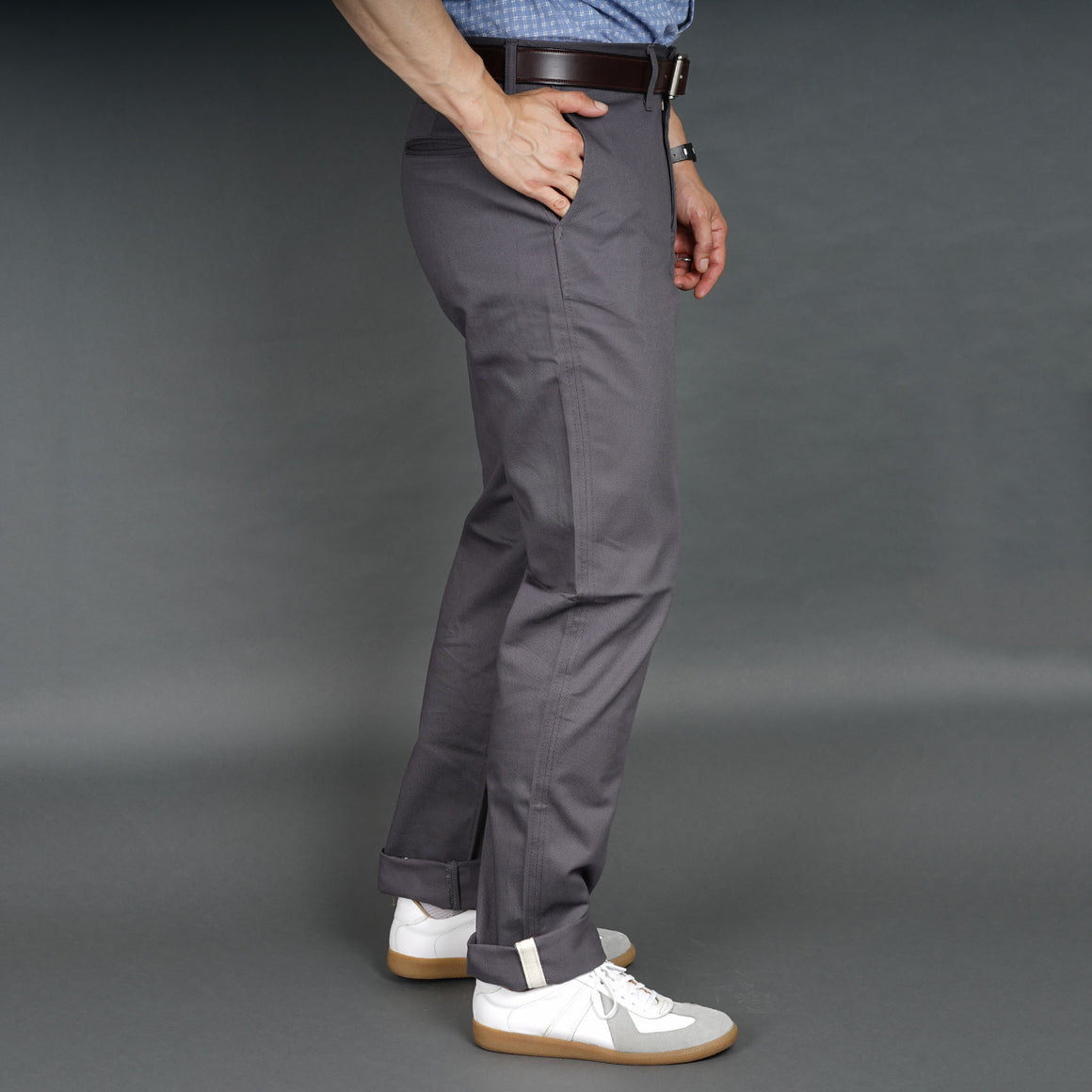 Sandow Athletic Chino Graphite Cramerton Cloth