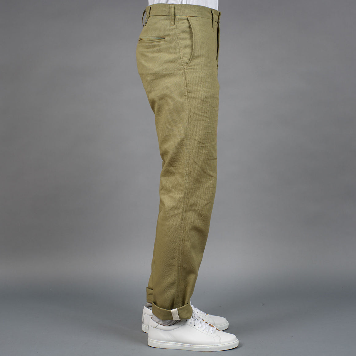Sandow Athletic Chino 8oz canvas Khaki