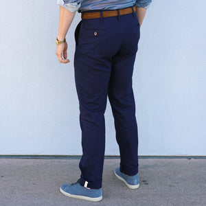 Sandow Athletic Chino 8oz canvas Navy