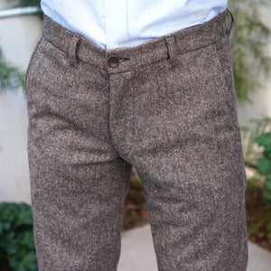 Hertling Trousers Woolrich Last American Donegal Tweed