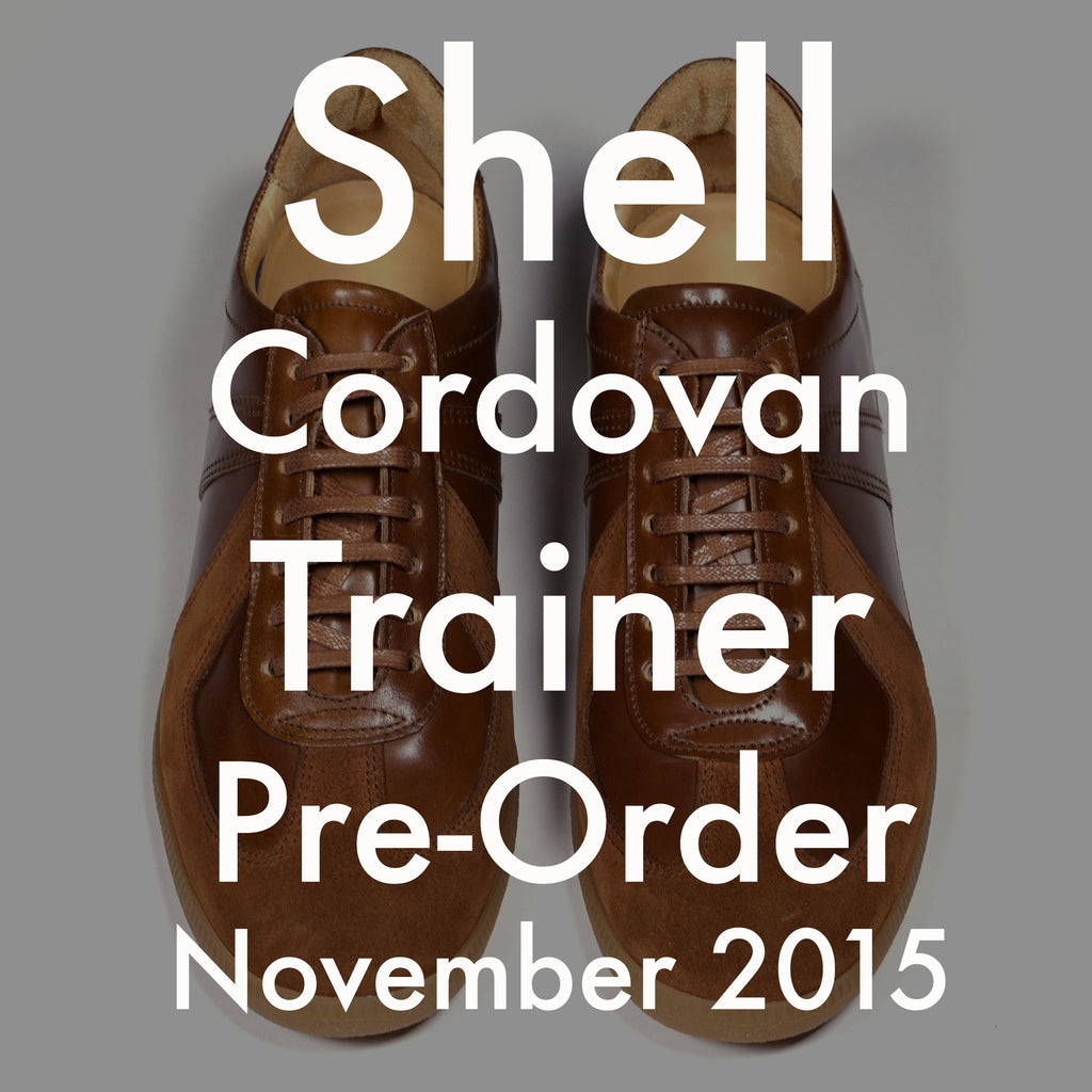Genuine Shell Cordovan Trainer Made to order