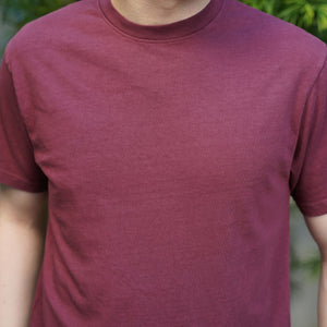 Heavyweight T-Shirt Short Sleeve in Currant