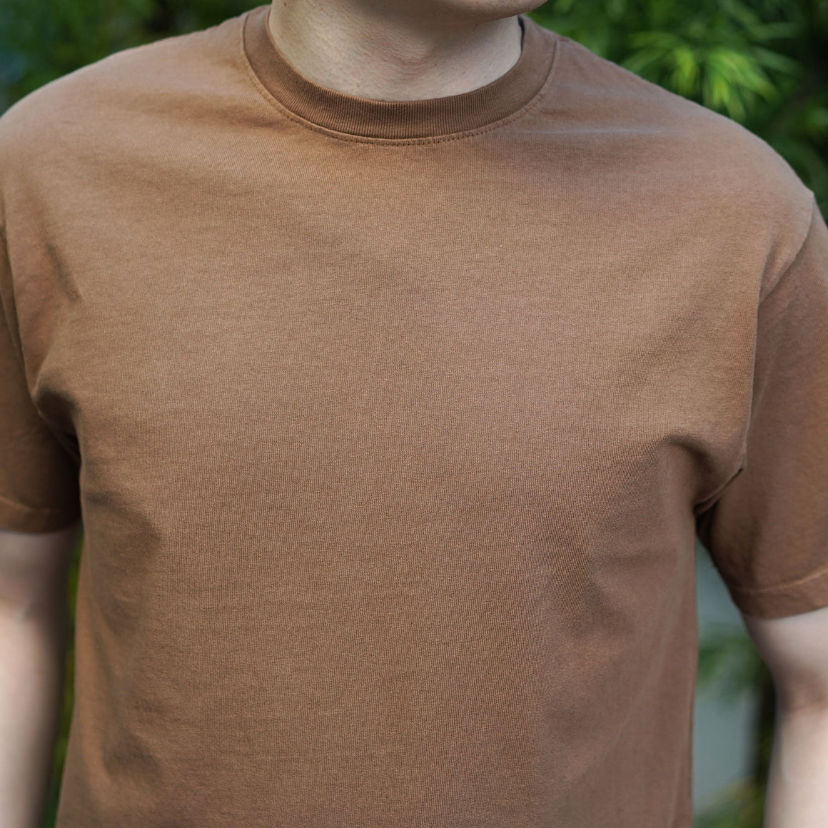 Heavyweight T-Shirt Short Sleeve in Vicuna
