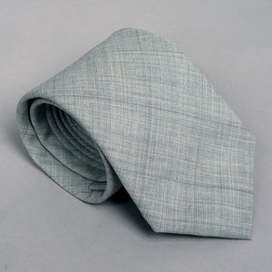 Necktie in Drago Silver Streak Wool
