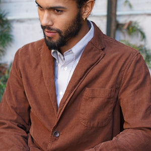 Sinclair Sportcoat in Chestnut Corduroy