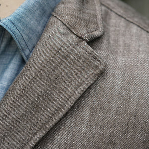 Sinclair Sportcoat in Tobacco Yoshiwa Denim