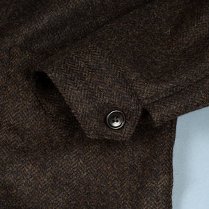 Sinclair Sportcoat in Woolrich Mocha Herringbone Tweed