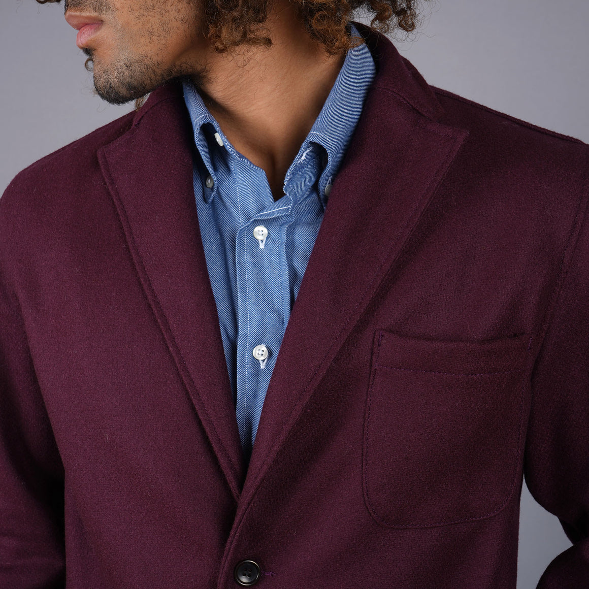 Sinclair Sportcoat in Pendleton Oxblood Tweed