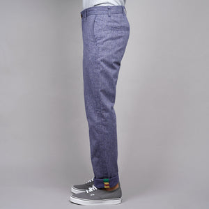 Rivet Chino Project: Plum Static Weave, Vintage Infantry & Handwoven Taping
