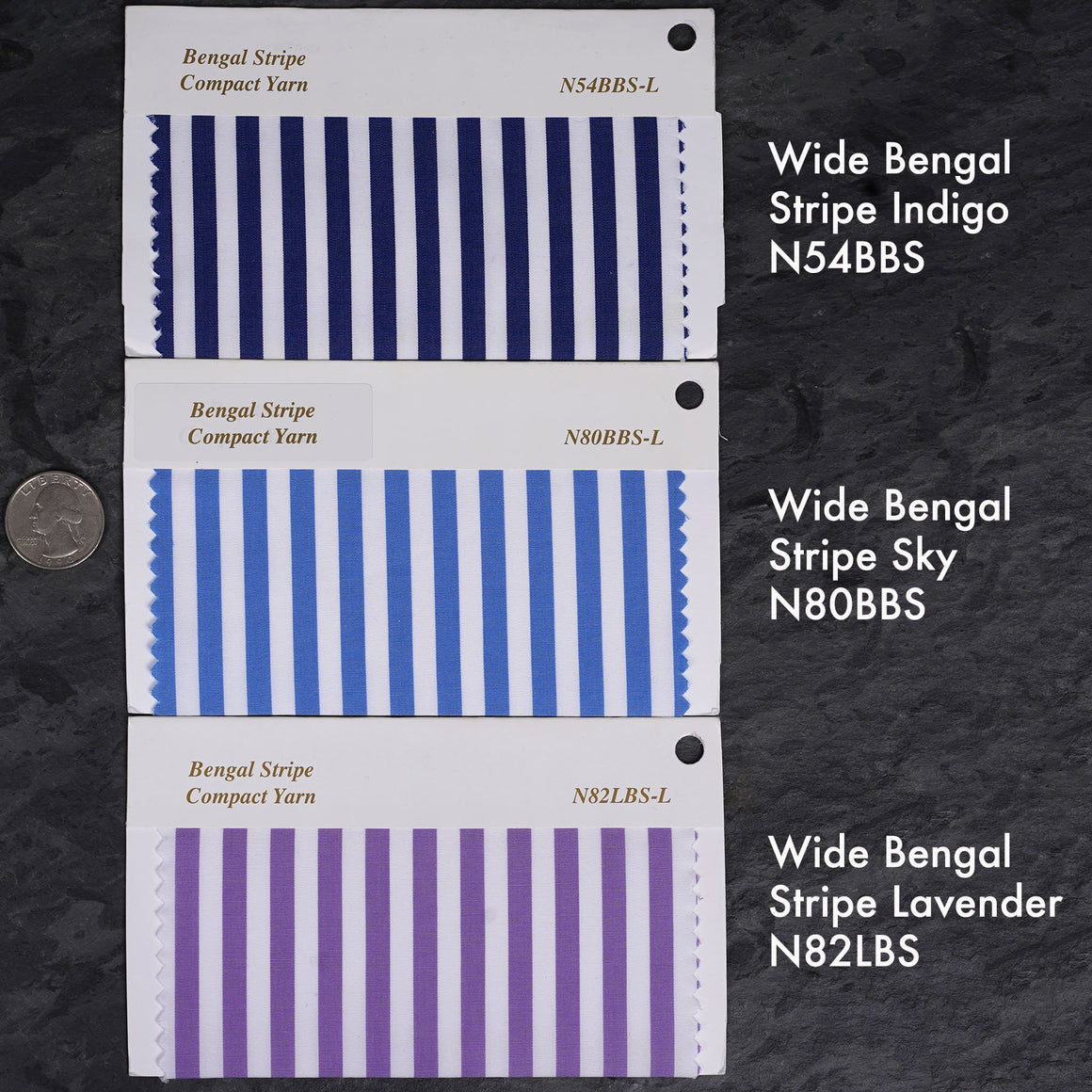 Custom Shirting Bengal Stripes