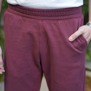 Abbot Sweatpant Heavyweight Fleece Currant