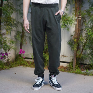 Abbot Sweatpant Heavyweight Fleece Steel Moss