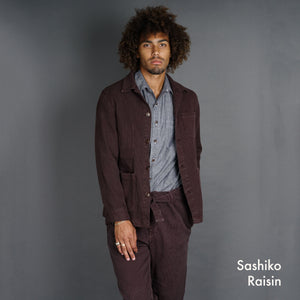 Doyle Jacket & EZ Pant Pumice Washed Sashiko Project