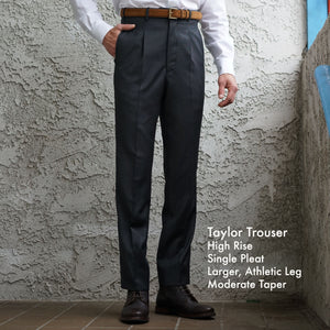 Made To Order Trousers Vitale Barberis Solid Four Season Wools