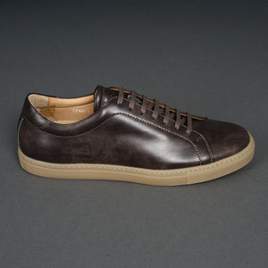 Tennis Trainer Gunmetal Museum Calf