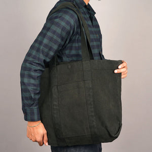 Tote Bag 21oz Heavyweight Sashiko Army Green