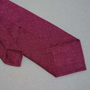 Necktie in Loro Piana Tropical Punch Linen