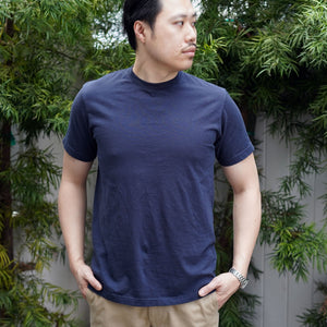 Organic T-Shirt Short Sleeve in Ink Navy
