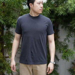 Organic T-Shirt Short Sleeve in Vintage Black