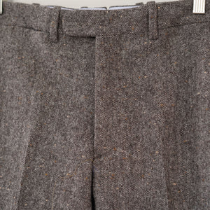 Sample Sale: Walt Trouser in Woolrich Donegal Tweed Size 34