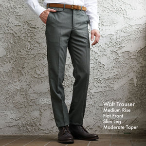 Made To Order Trousers REDA Italian 4-Season and Flannel Woolens