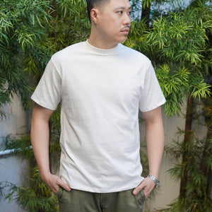 Heavyweight T-Shirt Short Sleeve in Antique White
