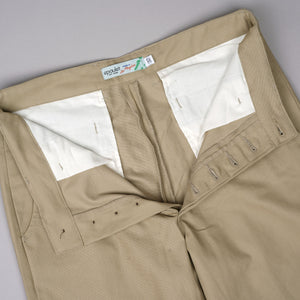 Wilhelm Athletic Chino 8oz Canvas Khaki