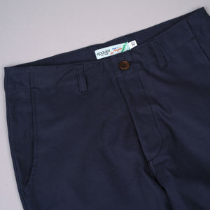 Wilhelm Athletic Chino 8oz Canvas Navy