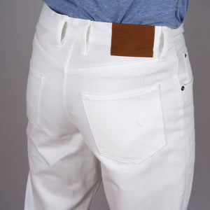 Wilhelm Jean 14 oz Kuroki Optic White Denim