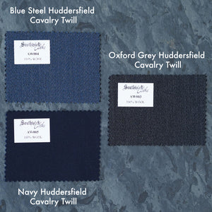 Made To Order Suiting Huddersfield Wool Cavalry Twill