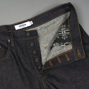 Wilhelm Jean 14oz Kuroki Flecked Indigo Raw Denim