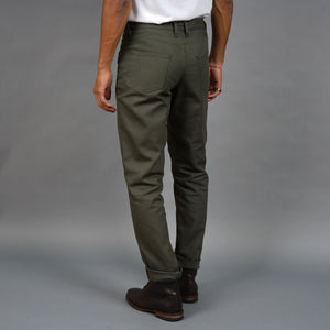 Wilhelm Jean 10oz Olive Duck Canvas