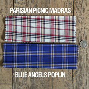 Custom Shirting Thomas Mason Madras & Poplin