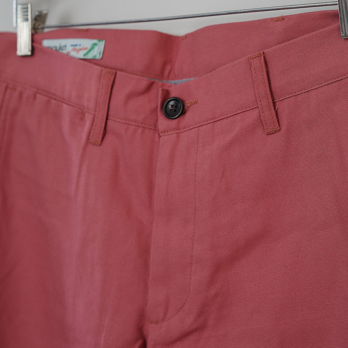 Sample Sale: Rivet Chino in 8oz Nantucket Red Canvas Size 34
