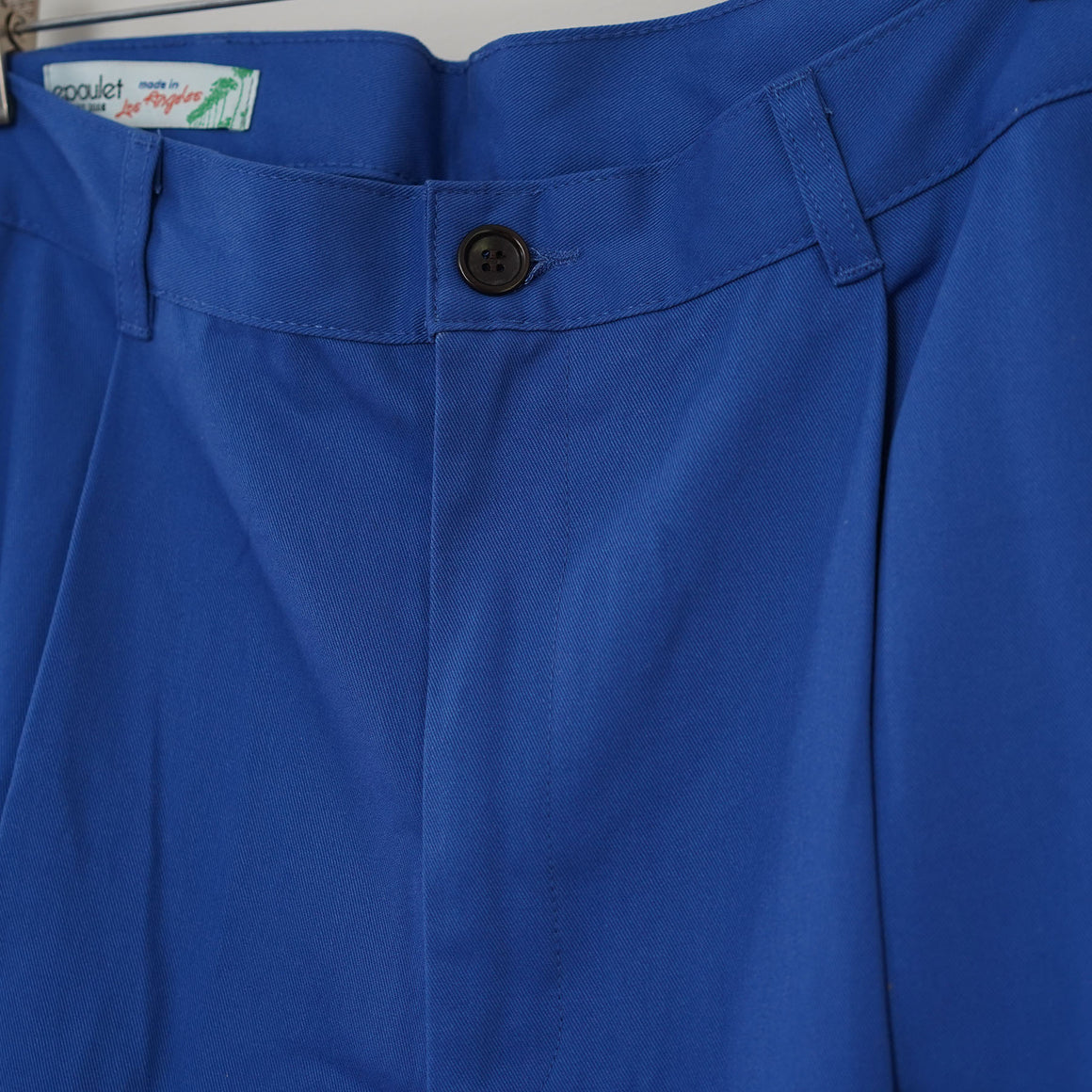 Sample Sale: EZ Pant in Royal Blue Twill Size 33