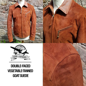 Made to Order Leather Double Rider Jacket DEPOSIT