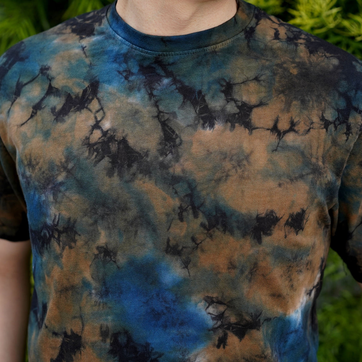 Extra Heavyweight T-Shirt Short Sleeve in Cosmic Thunderbird Camo