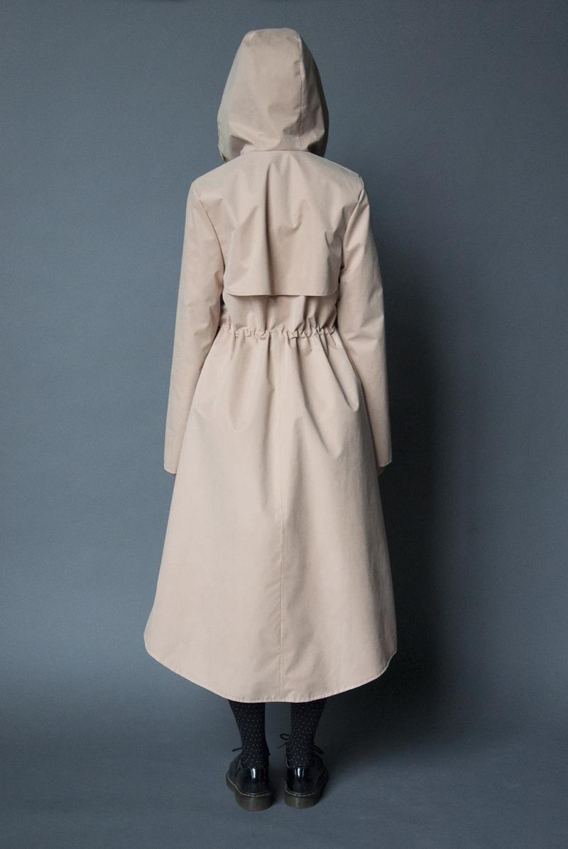 LightCream demi-season coat
