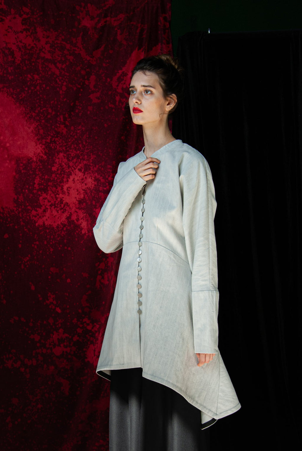 Valencia Grey Tunic